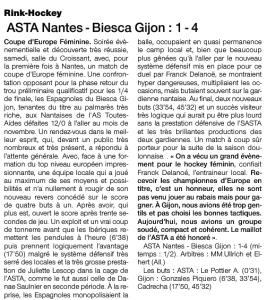 OUEST France Sport édition 20 janvier 14
