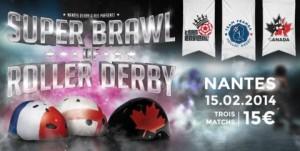 Roller Derby Nantes Février 2014