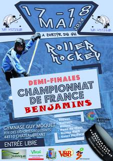 Championnat de France de Roller Hockey benjamin 2014