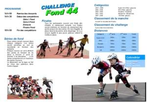 Affiche challenge fond